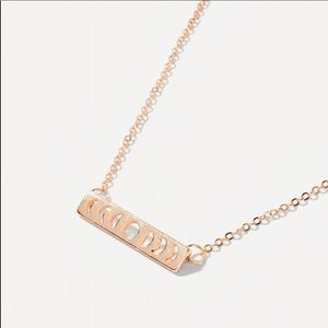 🎁 5/$35 || 🌙 Phases Bar Necklace